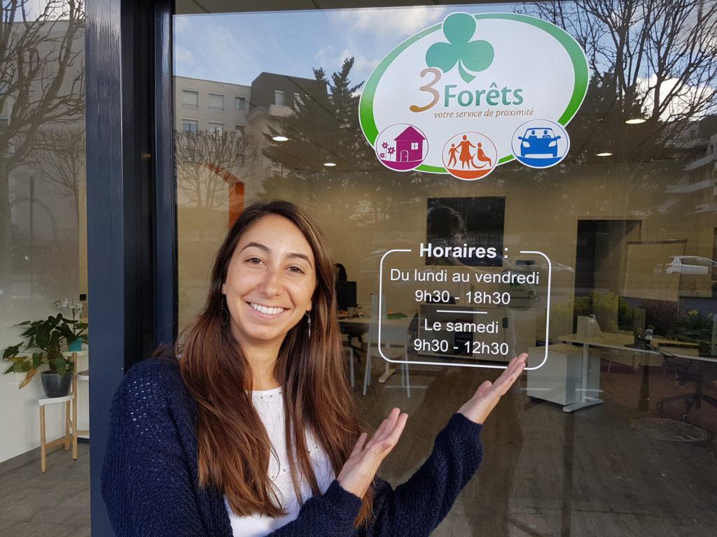 Nouvelle agence Saint-Gratien; 3 Forêts