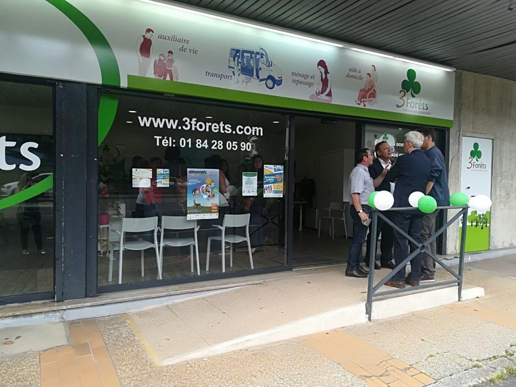 Inauguration nouvelle agence Saint-Gratien; 3 Forêts