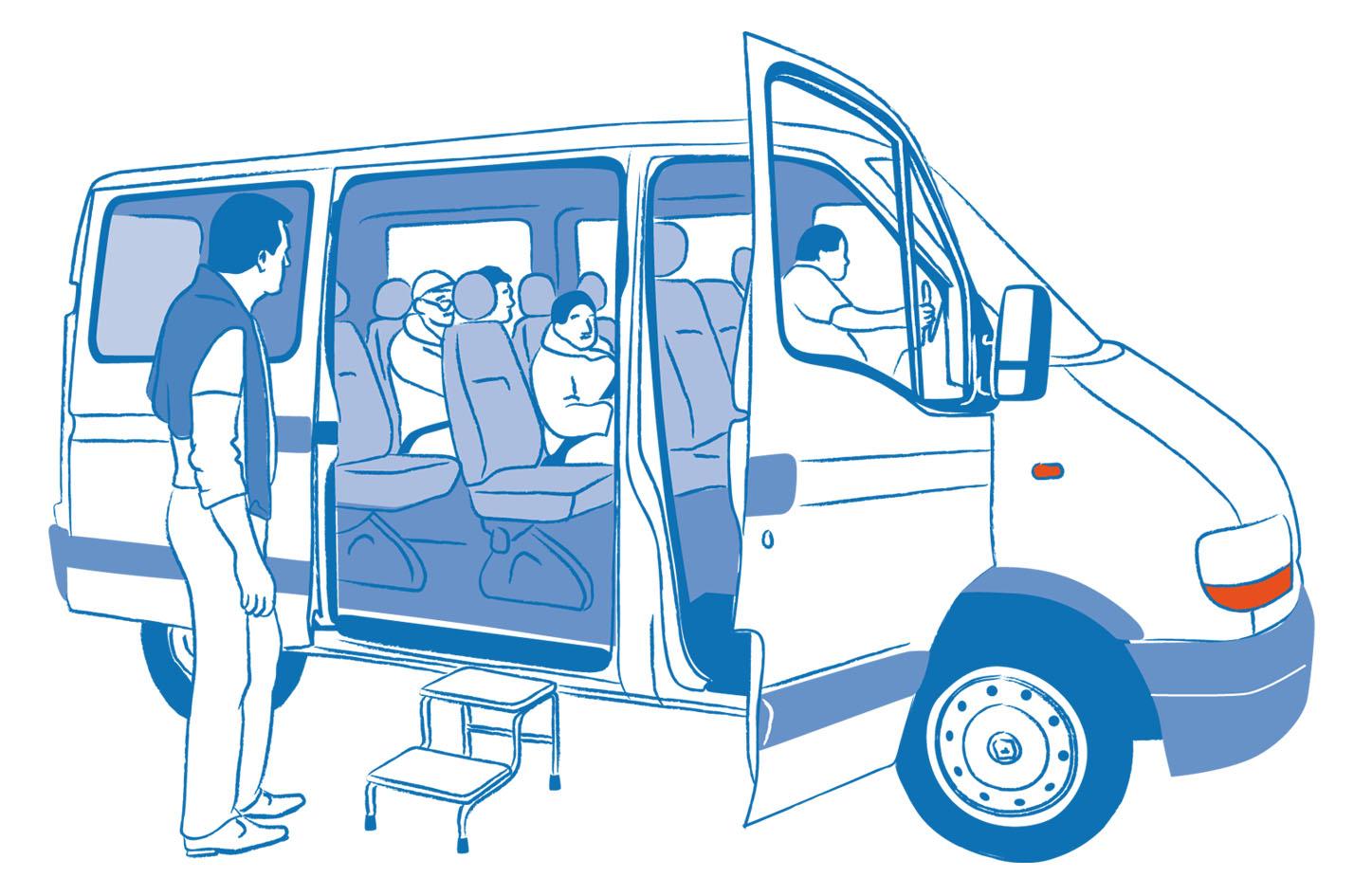 Transport; 3 Forêts