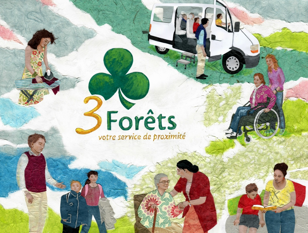 Affiche; 3 Forêts